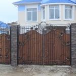 кованые ворота заказать Барнаул (7)