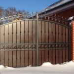 кованые ворота заказать Барнаул (8)