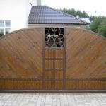 кованые ворота заказать Барнаул (9)