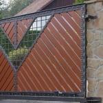 кованые ворота заказать Барнаул 90