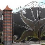 ворота кованые Барнаул Курдалагон