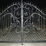 кованые ворота Барнаул