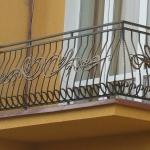 Кованые перила на балкон Барнаул