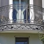 Кованое балконное ограждение Барнаул