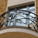 Балкон кованый Барнаул