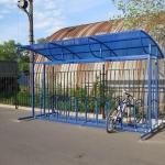 Велопарковка навес для велосипедов барнаул заказать (1)