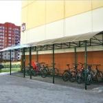 Велопарковка навес для велосипедов барнаул заказать (2)