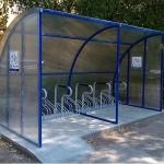 Велопарковка навес для велосипедов барнаул заказать (3)