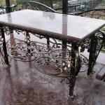стол ритуальный с каменной столешницей купить Барнаул