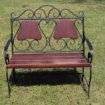 Кованая скамья для кладбища купить Барнаул