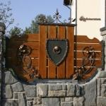 Кованый забор заказать Барнаул (12)