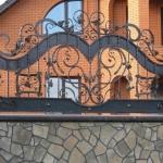 Кованый забор заказать Барнаул (13)