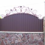 Кованый забор заказать Барнаул (14)