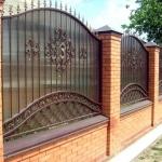 Кованый забор заказать Барнаул (19)
