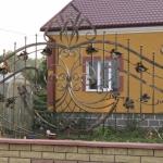 Кованый забор заказать Барнаул (22)