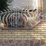 Кованый забор заказать Барнаул (23)