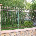 Кованый забор заказать Барнаул (27)