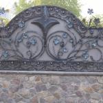 Кованый забор заказать Барнаул (28)
