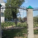 Кованый забор заказать Барнаул (32)