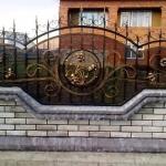 Кованый забор заказать Барнаул (42)