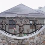 Кованый забор заказать Барнаул (46)