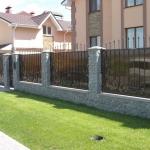 Кованый забор заказать Барнаул (47)