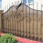 Кованый забор заказать Барнаул (51)
